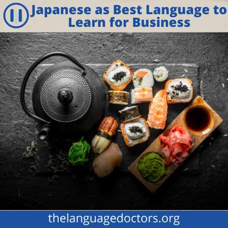 It will help you to do business with Japan