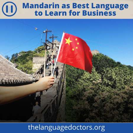 Best languages to learn for business is Mandarin-you will be benefited if you want to do business with China