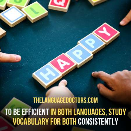 Continue Building Your Vocabulary-is another crucial step for success