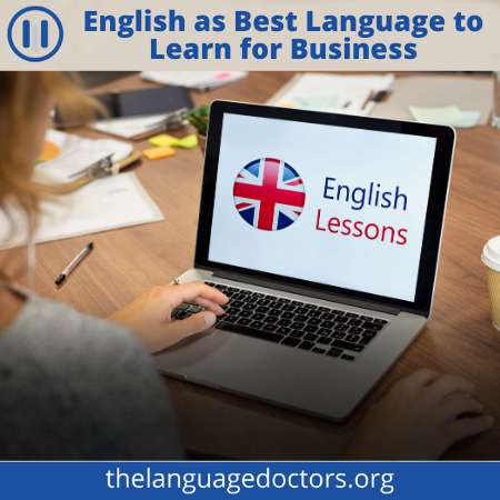 English is the Best languages to learn for business-it will help you to grow business English speaking countries