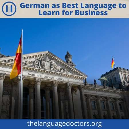 German As the Business Language to do business in Europe