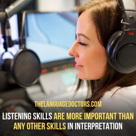 Listen Attentively-is the most important steps to be a better interpreter