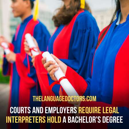 Obtaining a Bachelor's Degree-it an important steps to be a court interpreter
