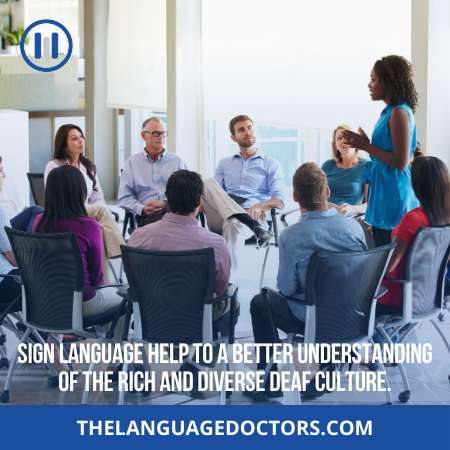 Social Benefits-with sign language skills you will get many social benefits