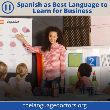 Spanish is one of the popular Business Language-it will help to grow your business globally