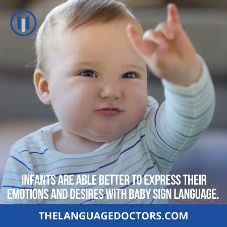 What is baby sign language- it helps parents to communicate with infants