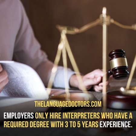 Working as a Translator or Interpreter-will help you to find a job as a court interpreter