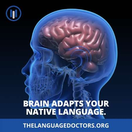 Brain Adapts Your Native Language-it's very important