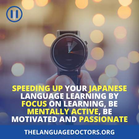 Speeding Up Your Language Learning Process