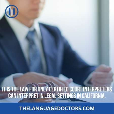 What is the job market potentials for California court interpreters-so you have garter job opportunity